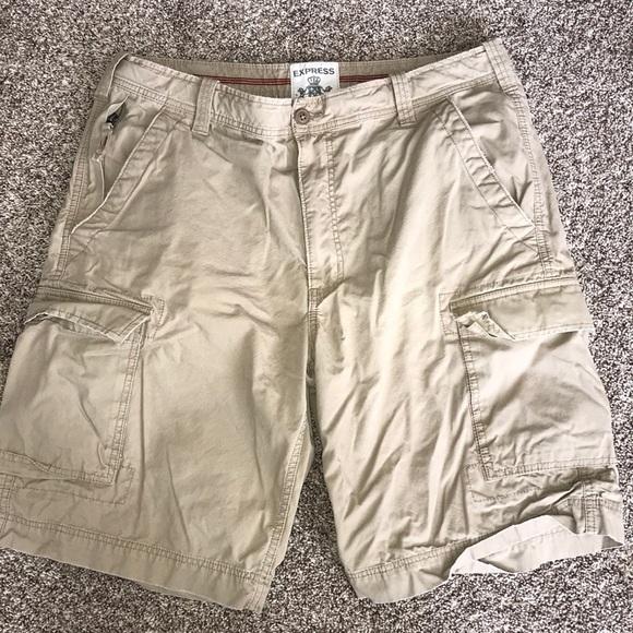 ac235bb308 Express Shorts | Cargo | Poshmark
